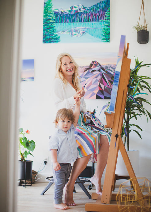 5 Things I Learned from Motherhood About Running an Art Business