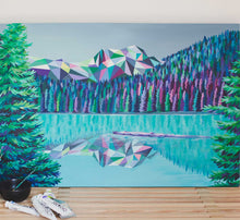 Load image into Gallery viewer, Joffre Lakes Painting