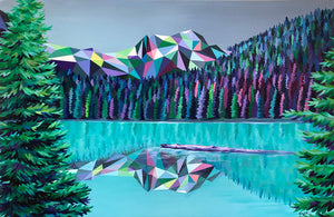 Joffre Lakes Painting