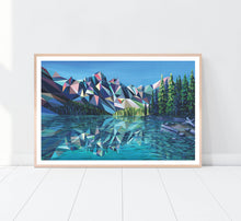 Load image into Gallery viewer, Moraine Lake Print