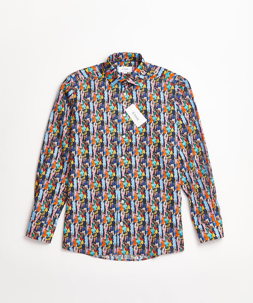 GATSBY PRINT SHIRT CONTEMPORARY / MULTI