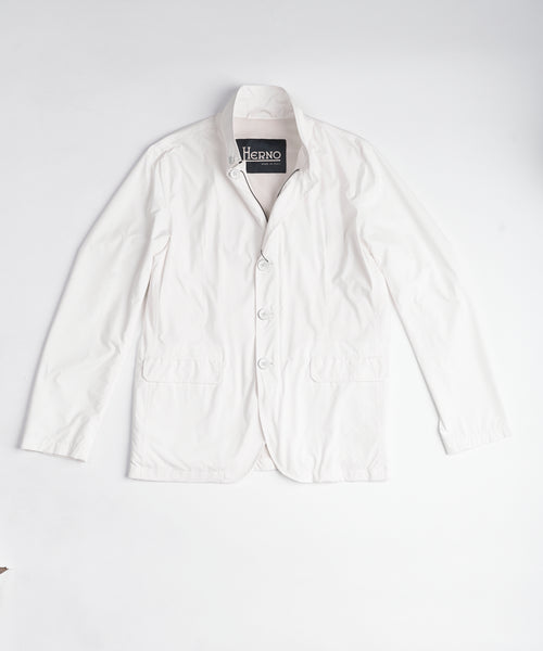 PACKABLE MICROFIBER BLAZER / WHITE