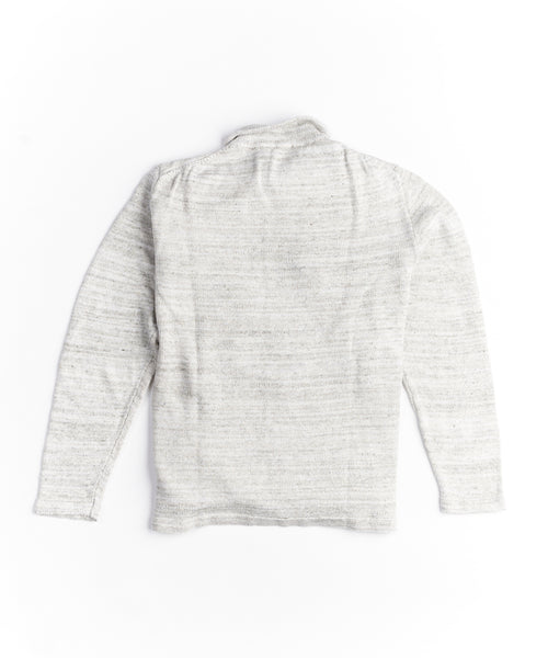Inis Meain S2009-PLAICE Unwashed Linen Shirt Jacket