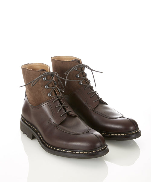GINKO TWO TONE BOOT / MOCHA
