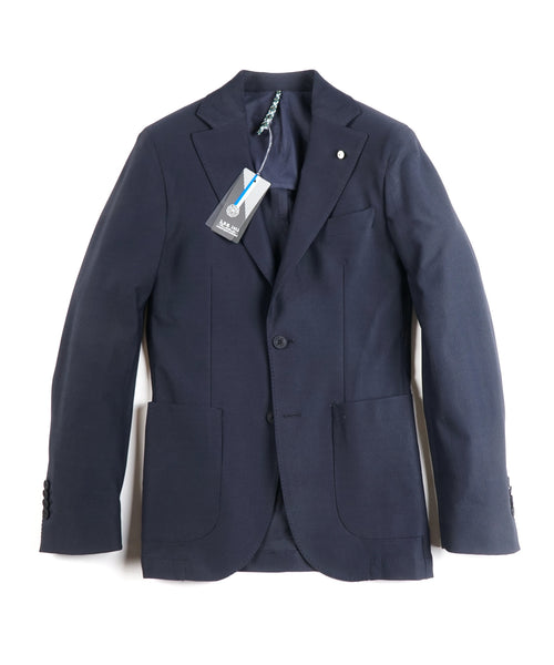 EASY TECH SOFT JACKET / NAVY