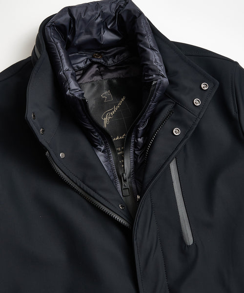 TECHNICAL CAR COAT / NAVY