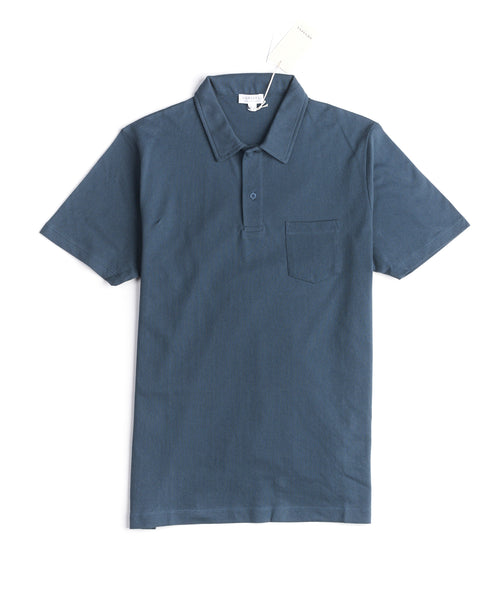 SHORT SLEEVE RIVIERA POLO SHIRT / PETROL