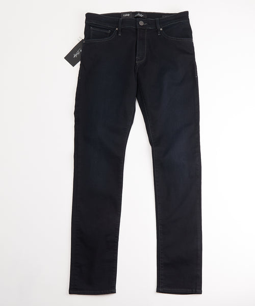 'COOL' RINSED TAPERED JEANS / MIDNIGHT