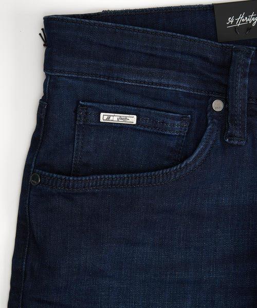 'CALM' SLIM JEANS / BLUE
