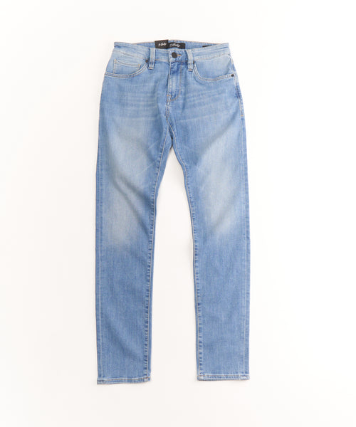 'CALM' WASHED SLIM JEANS / LIGHT BLUE