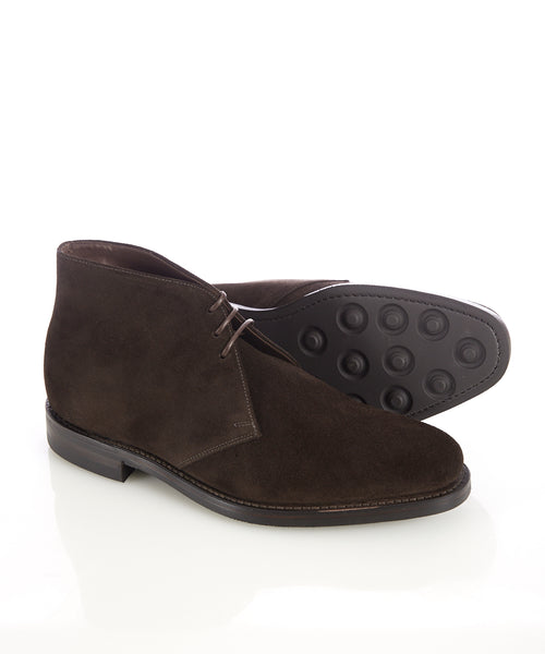 PIMLICO SUEDE CHUKKA BOOT / DARK BROWN