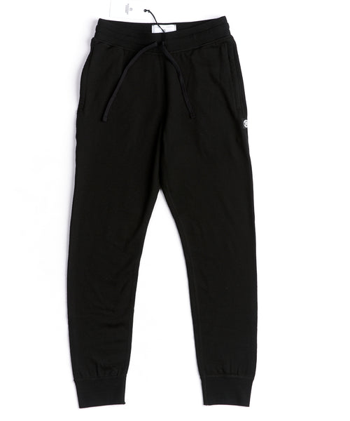 Reigning Champ Black Merino Wool RC-5216-BLACK Track Pants