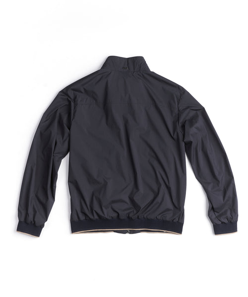 NYLON WINDBREAKER / NAVY