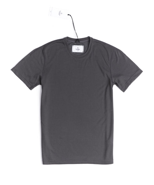 Reigning Champ 1126-CHARCOAL Pique Power Dry T-Shirt