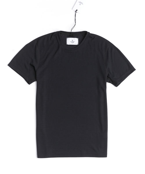 Reigning Champ RC-1126-BLACK Pique Power Dry T-Shirt