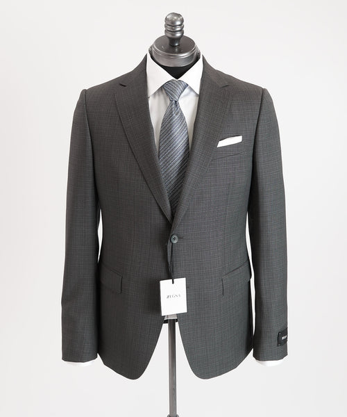 SHADOW CHECK SUIT DROP 8 / GREY