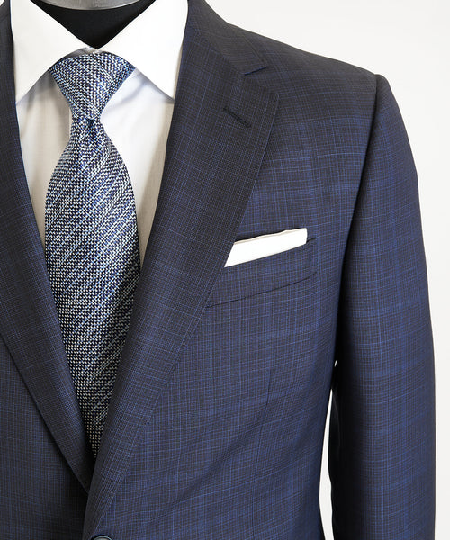 SUBTLE CHECK SUIT DROP 8 / BLUE