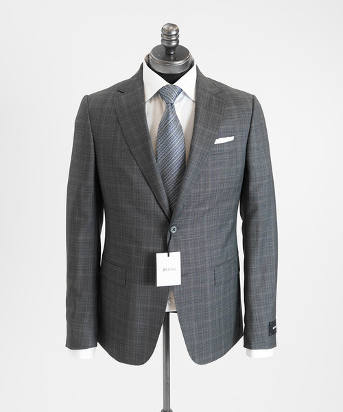 SUBTLE CHECK SUIT DROP 8 / GREY