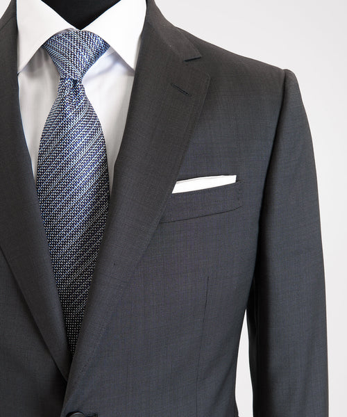 NAILHEAD SUIT DROP 8 / GREY