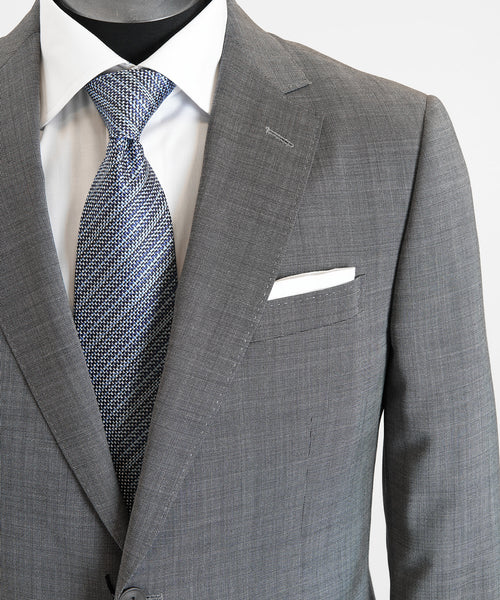 NAILHEAD SUIT DROP 8 / CHARCOAL