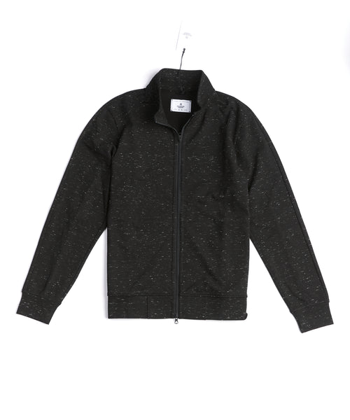 Reigning Champ Slubbed RC-4139-BLACK Track Jacket