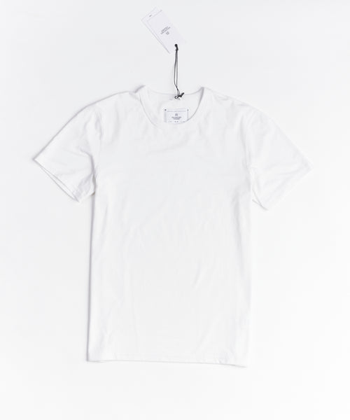 Reigning Champ 1169-WHITE  Copper Jersey T-Shirt