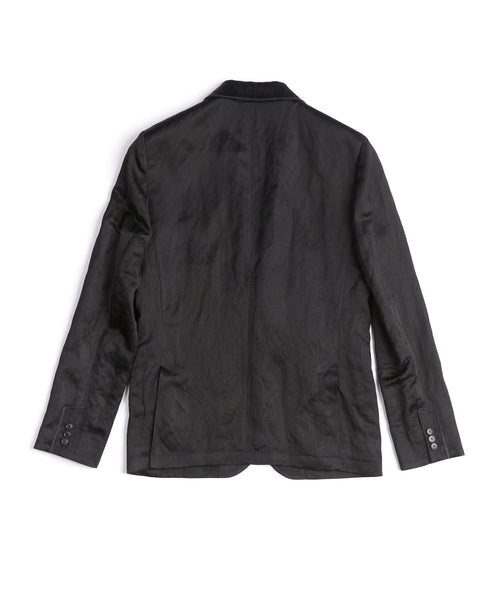 SHAWL COLLAR JACKET / BLACK