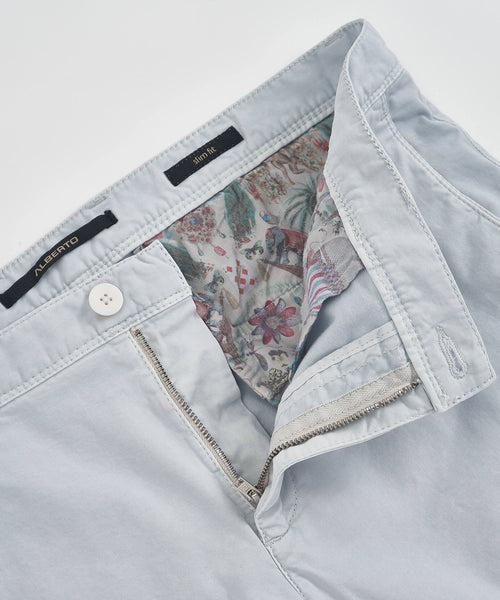 ROB' TWILL SHORT / LIGHT BLUE