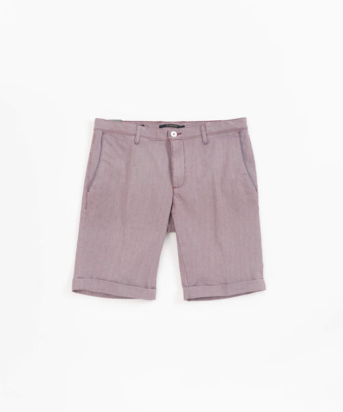 ROB' COTTON SHORTS / RED