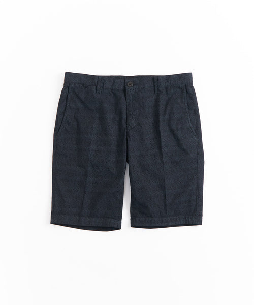 ROB DOUBLE PRINT SHORT / MIDNIGHT