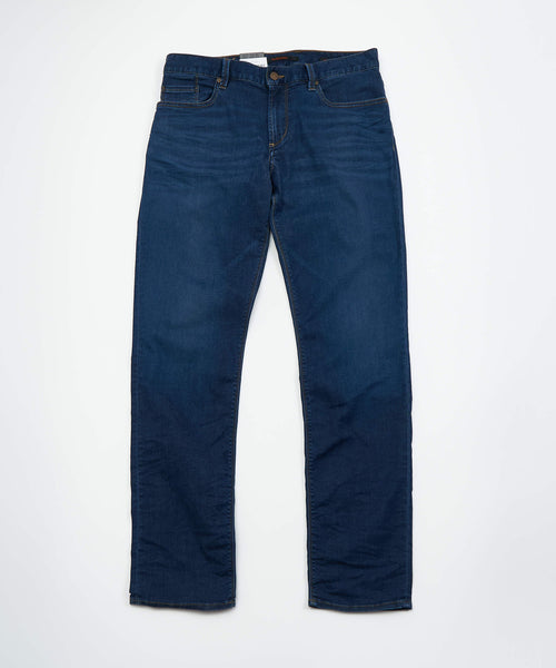'PIPE' FIT DYNAMIC SUPERFIT WASHED DENIM / BLUE