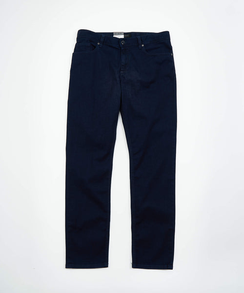 PIPE' FIT BUSINESS DENIM / NAVY