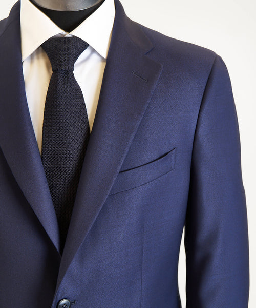 SOLID STRETCH SUIT / BLUE