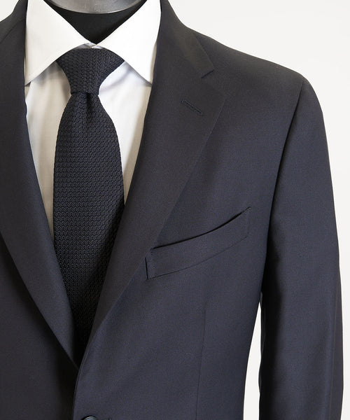 SOLID STRETCH SUIT / NAVY