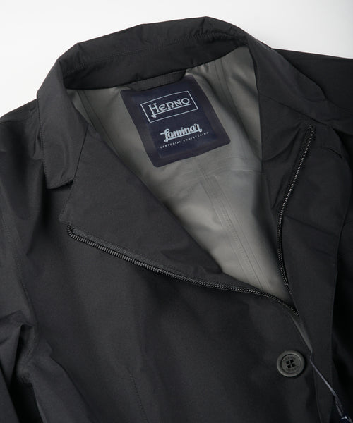GORETEX 'PACLITE' RAIN JACKET / BLACK
