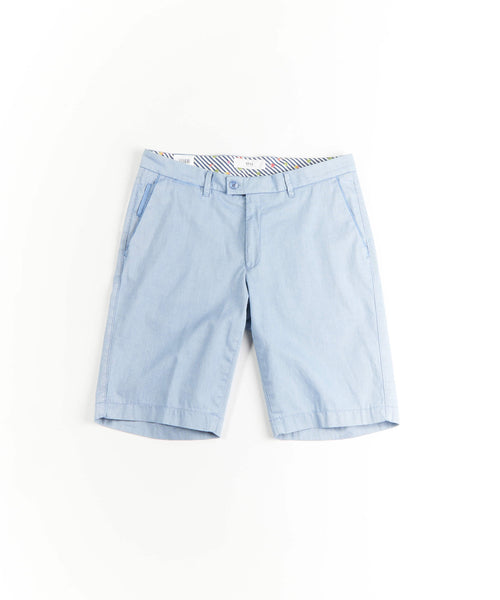 Brax Barry Pinstripe Light Blue Shorts