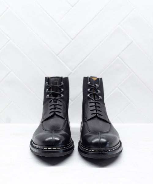 GINKO TWO TONE BOOT / BLACK