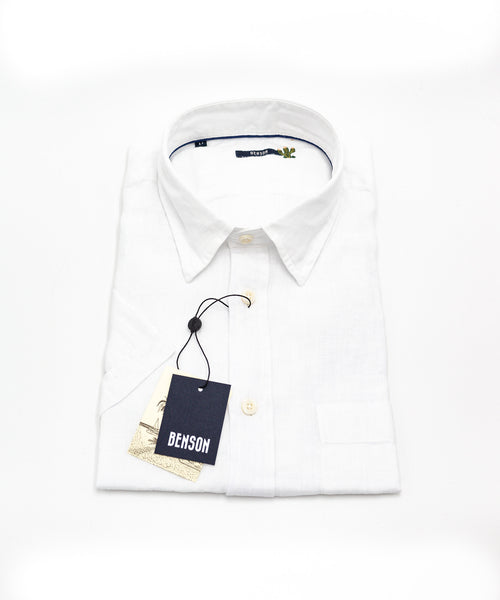 Benson Linen Short Sleeve Shirt