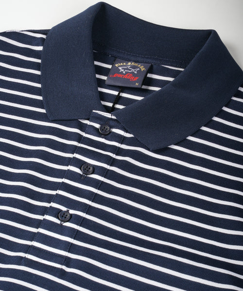 NAUTICAL STRIPED POLO / MULTI