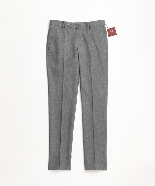 Echizenya Grey Cotton Herringbone Pants