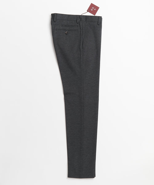 Echizenya Grey Chameleon Cotton Stretch Japanese Pants