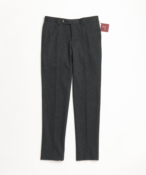 Echizenya Pants Charcoal Grey Knit Puppytooth Stretch Pants