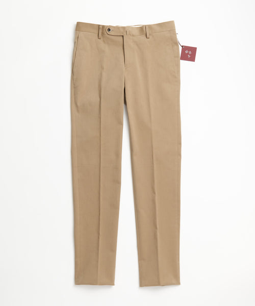 Echizenya Tan Cotton Moleskin Pants