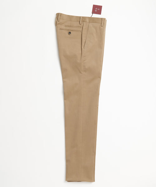 Echizenya Taupe Cotton Moleskin Pants