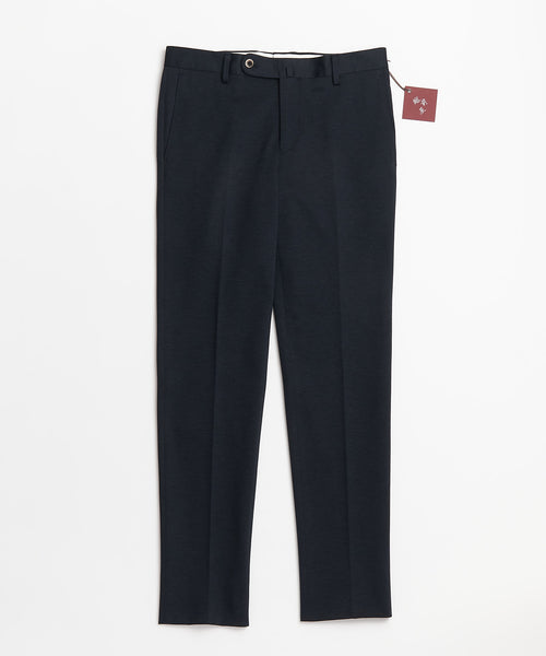 Echizenya Navy Cotton Stretch Japanese Pants
