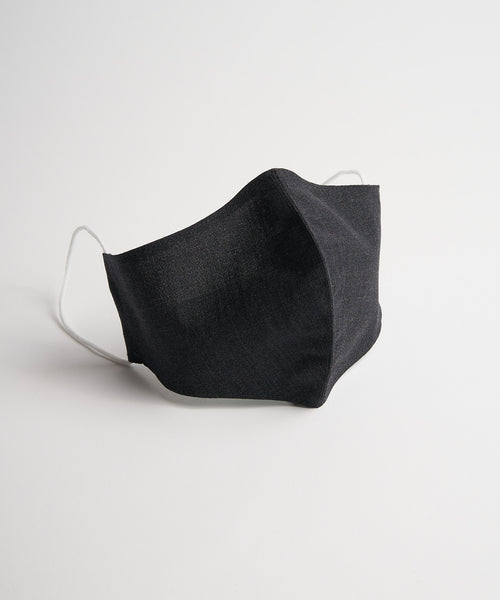 Echizenya Grey Wool Sartorial Facemask