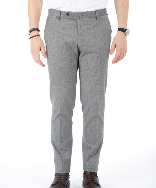 TECH COTTON NAILHEAD PANT / GREY