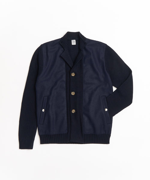 MIX MEDIA SWACKET / NAVY