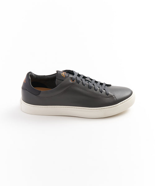 'LEGEND' CLASSIC LEATHER SNEAKER / CHARCOAL