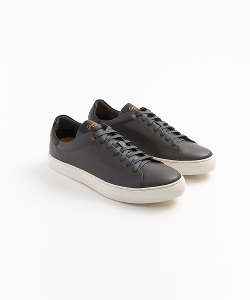 LEGEND' CLASSIC LEATHER SNEAKER / CHARCOAL